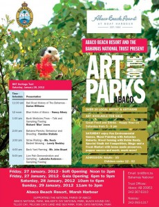 Art for the Parks Abaco 2012 January 27 28 29 2012