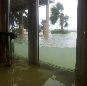 Sandy Marsh Flooding Doors 300x298 Hurricane Sandy Abaco Bahamas Info Page