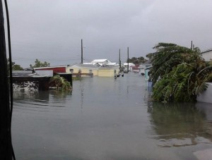 Green Turtle Cay after Hurricane Sandy