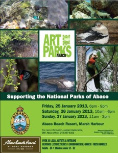 Art for the Parks of Abaco 2013