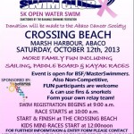 Abaco Swim Club 5K Open Water Swim October 12 2013