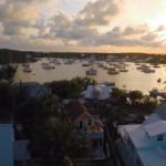 Hopetown Harbor Drone Video