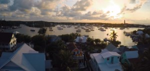 Hopetown Harbor Drone video